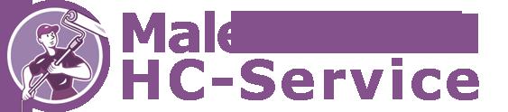 Malerfirmaet HC-Service Logo